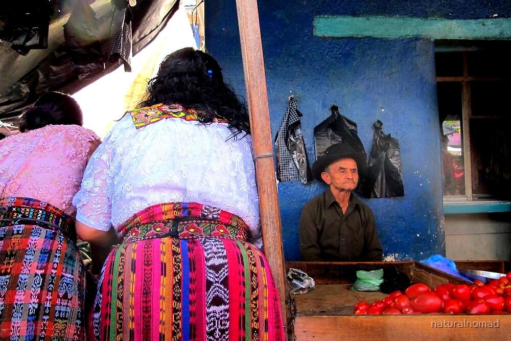Mayan Market Bums by naturalnomad