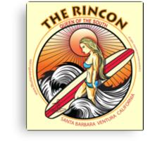 THE RINCON, QUEEN  OF THE COAST Canvas Print