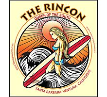 THE RINCON, QUEEN  OF THE COAST Photographic Print