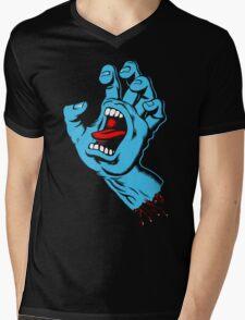 Screaming Hand Mens V-Neck T-Shirt