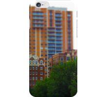 Tall Buildings on Brush Creek Tilt Shift iPhone Case/Skin