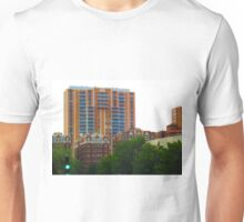 Tall Buildings on Brush Creek Tilt Shift Unisex T-Shirt