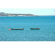 Boats at Victor Harbour, Adelaide, Australia Photographic Print