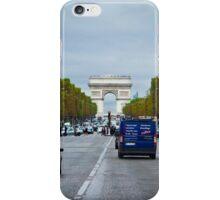 Traffic in Paris, France iPhone Case/Skin