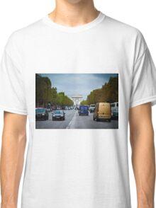Traffic in Paris, France Classic T-Shirt