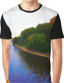 Brush Creek, Kansas City Tilt Shift Graphic T-Shirt