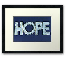 MCC Hope Framed Print