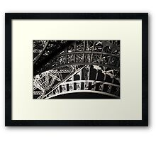 Great Eiffel Tower close-up Framed Print