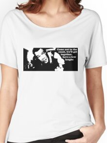 Die Hard: Come out to the coast... Women's Relaxed Fit T-Shirt