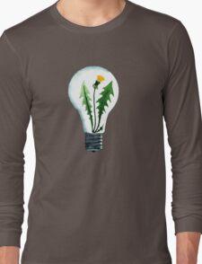Dandelion idea Long Sleeve T-Shirt