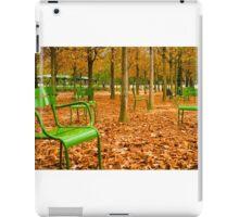Green Chairs iPad Case/Skin