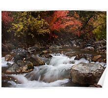 Autumn River 2 Poster
