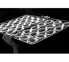 The Art of Bagel Making Photographic Print