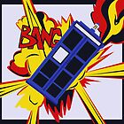 Explosion of the TARDIS by camdenrem