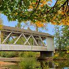Larwood Bridge, Scio Oregon by Jim Stiles