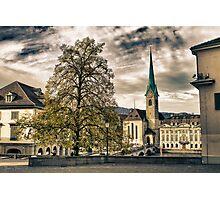 Zurich Old Town Photographic Print