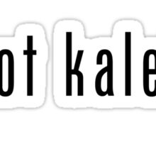 got kale? (black font) Sticker
