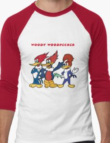 woody woodpecker Men's Baseball ¾ T-Shirt