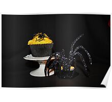 Halloween Cupcake ( Cherry and Almond ) Poster