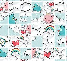 Love puzzle. by Ekaterina Panova