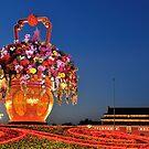 Tiananmen Flowers by Kasia Nowak