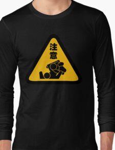 Beware of Jitz (Jiu Jitsu) - Original Long Sleeve T-Shirt