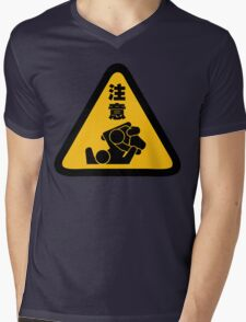 Beware of Jitz (Jiu Jitsu) - Original Mens V-Neck T-Shirt
