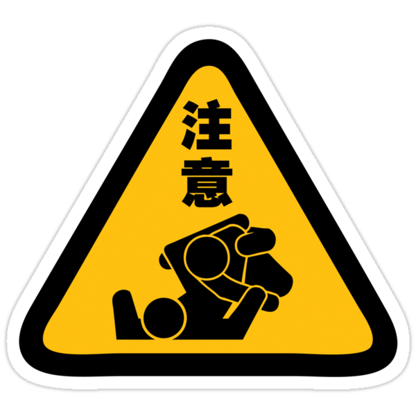 Beware of Jitz (Jiu Jitsu) - Original by bammydfbb