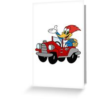 woody woodpecker Greeting Card