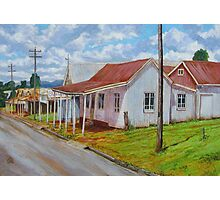 Old Shops – South Johnstone Photographic Print