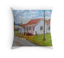 Old Shops – South Johnstone Throw Pillow
