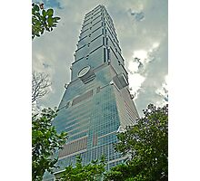 Taipei 101 - Symbolism in Architecture Photographic Print