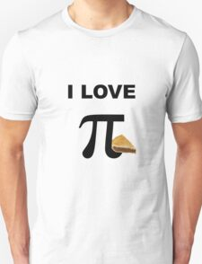 I Love Pi / Pie T-Shirt