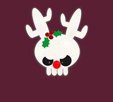 Reindeer of Doom Christmas Greetings Womens Fitted T-Shirt