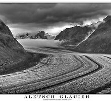 aletsch glacier by kippis