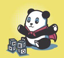 Baby Panda Hero Shirt Kids Tee