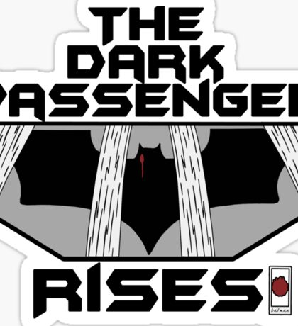 The Dark Passenger Rises Sticker