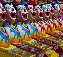 Laughing Clowns by Bami