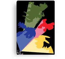 Nintendo Ensemble Canvas Print