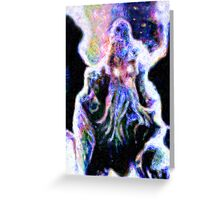 Cthulhu by Vincent Greeting Card