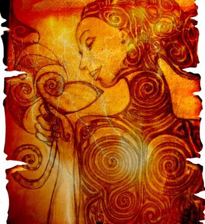 Alma with Anima Sticker