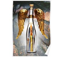 † ❤ † BOTTLED ANGEL IN FLIGHT PICTURE/CARD † ❤ † Poster