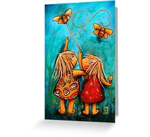 Forever Friends Blue Skies Greeting Card