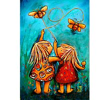 Forever Friends Blue Skies Photographic Print