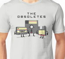 The Obsoletes (Retro Floppy Disk Cassette Tape) Unisex T-Shirt