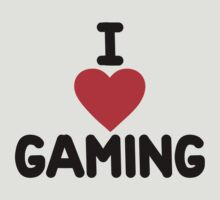 I heart gaming by onebaretree