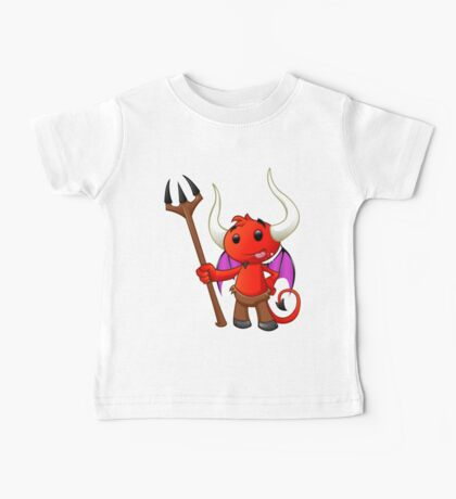 Devil Character - #1 Baby Tee
