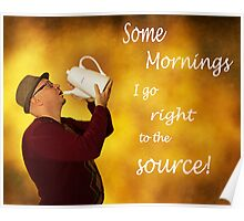 Coffee Mornings Poster