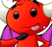 Devil Character - #2 Sticker
