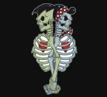 Psychobilly couple Kids Tee